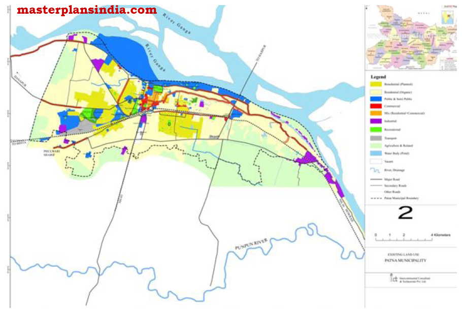 Patna India  city pictures gallery : Patna Base Map PDF Download Master Plans India