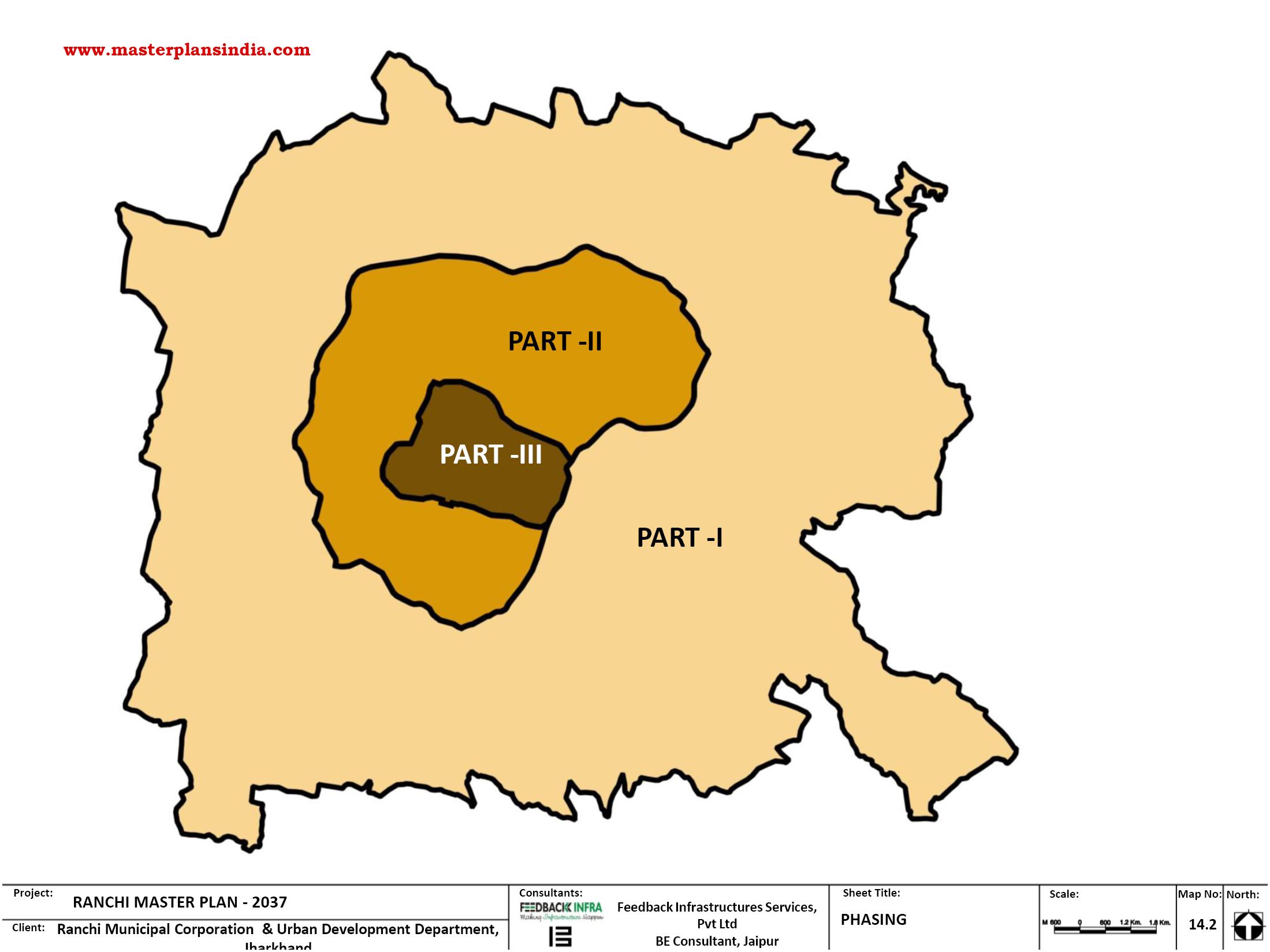 Ranchi India Map