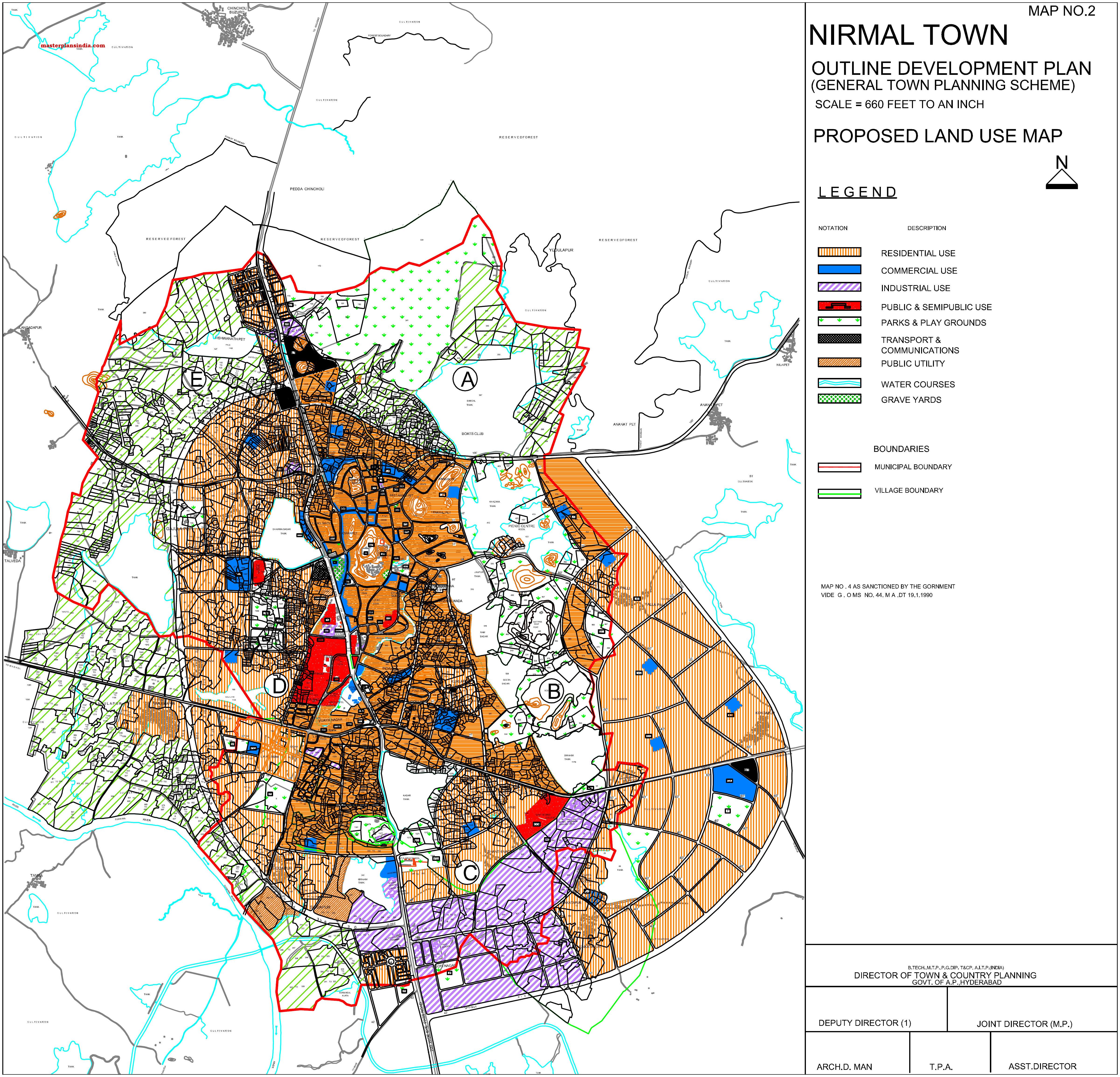 Telangana Map Pdf