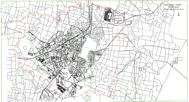 Adilabad Base Map