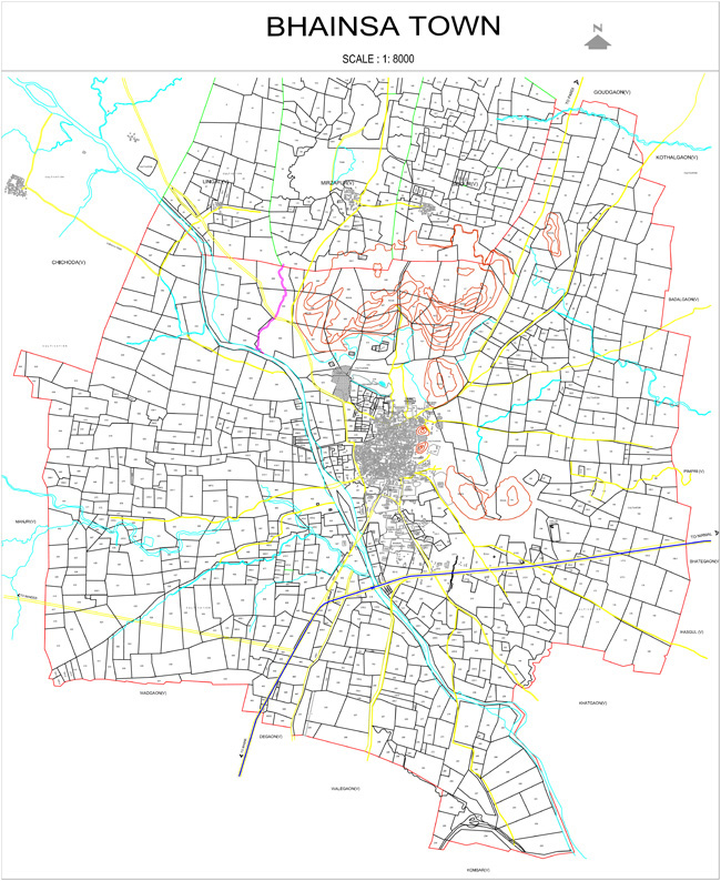 Bhaunda Base Map
