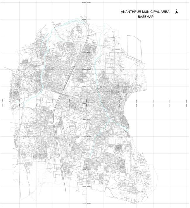 Anantapur Base Map