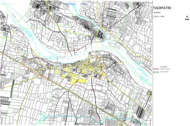 Tadipatri Base Map