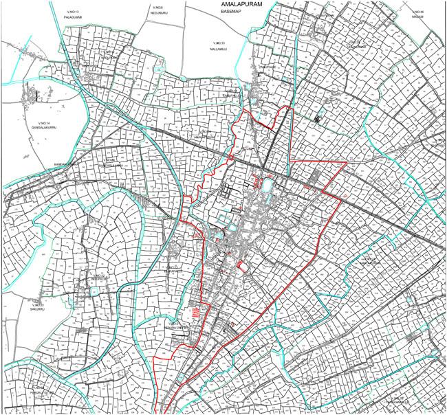 Amalapuram Base Map