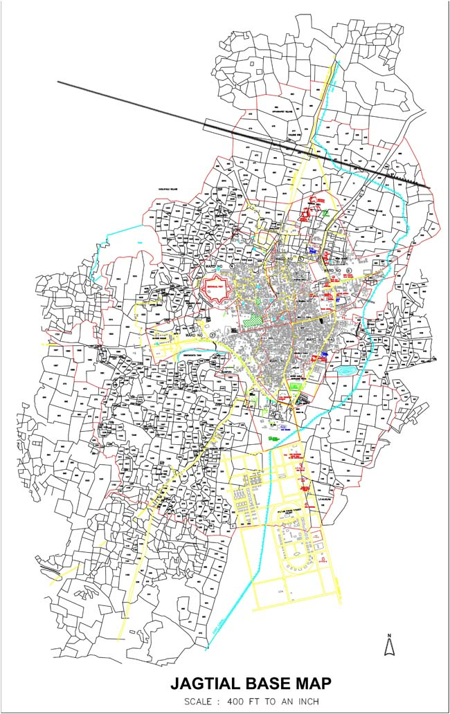 Jagityal Base Map