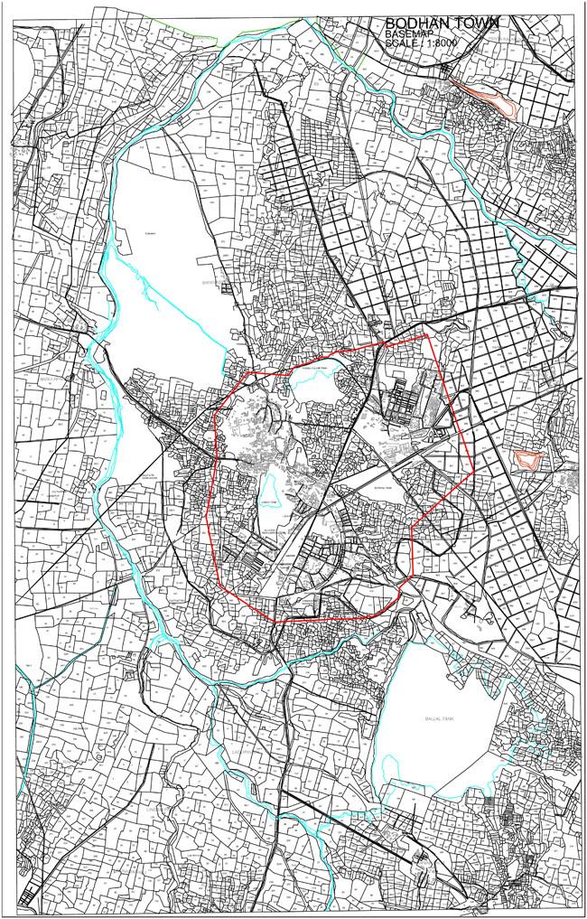 Bodhan Base Map