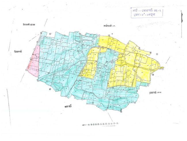 Dob Gaon Block-2 Map