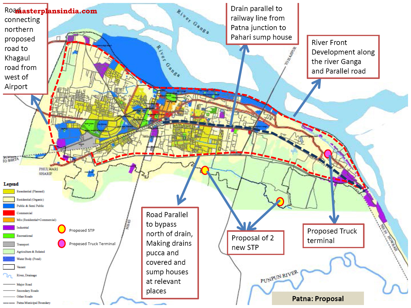 Patna India  City pictures : Patna Development Plan Proposal PDF Download Master Plans India