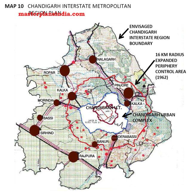 Chandigarh Interstate Metropolitan Region Plan