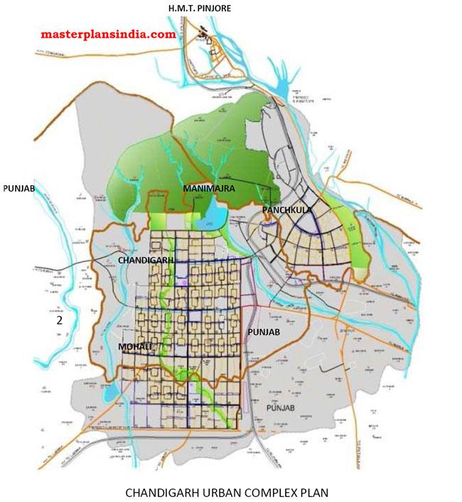 Chandigarh Urban Complex Plan