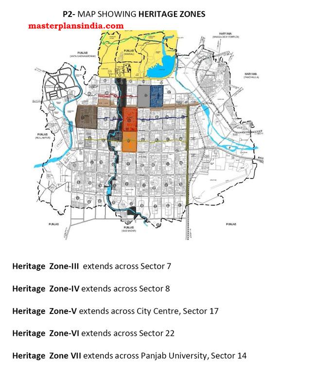 Heritage Zones Chandigarh