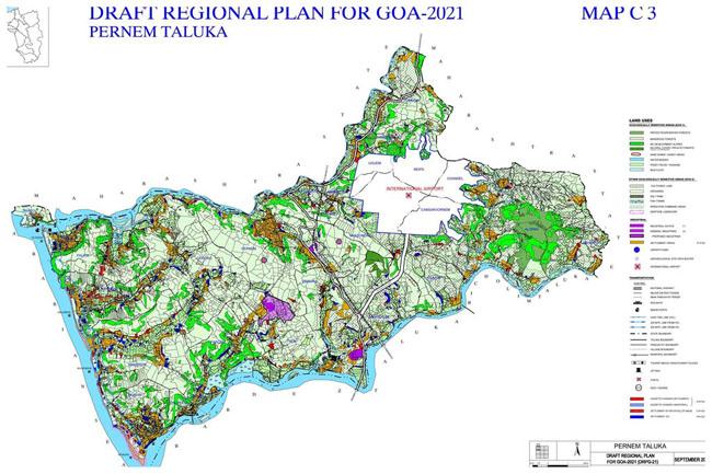 Pernem Taluka Regional Development Plan Map