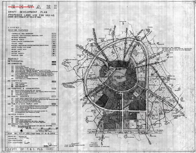 Rewari Master Plan 2021 Map Draft