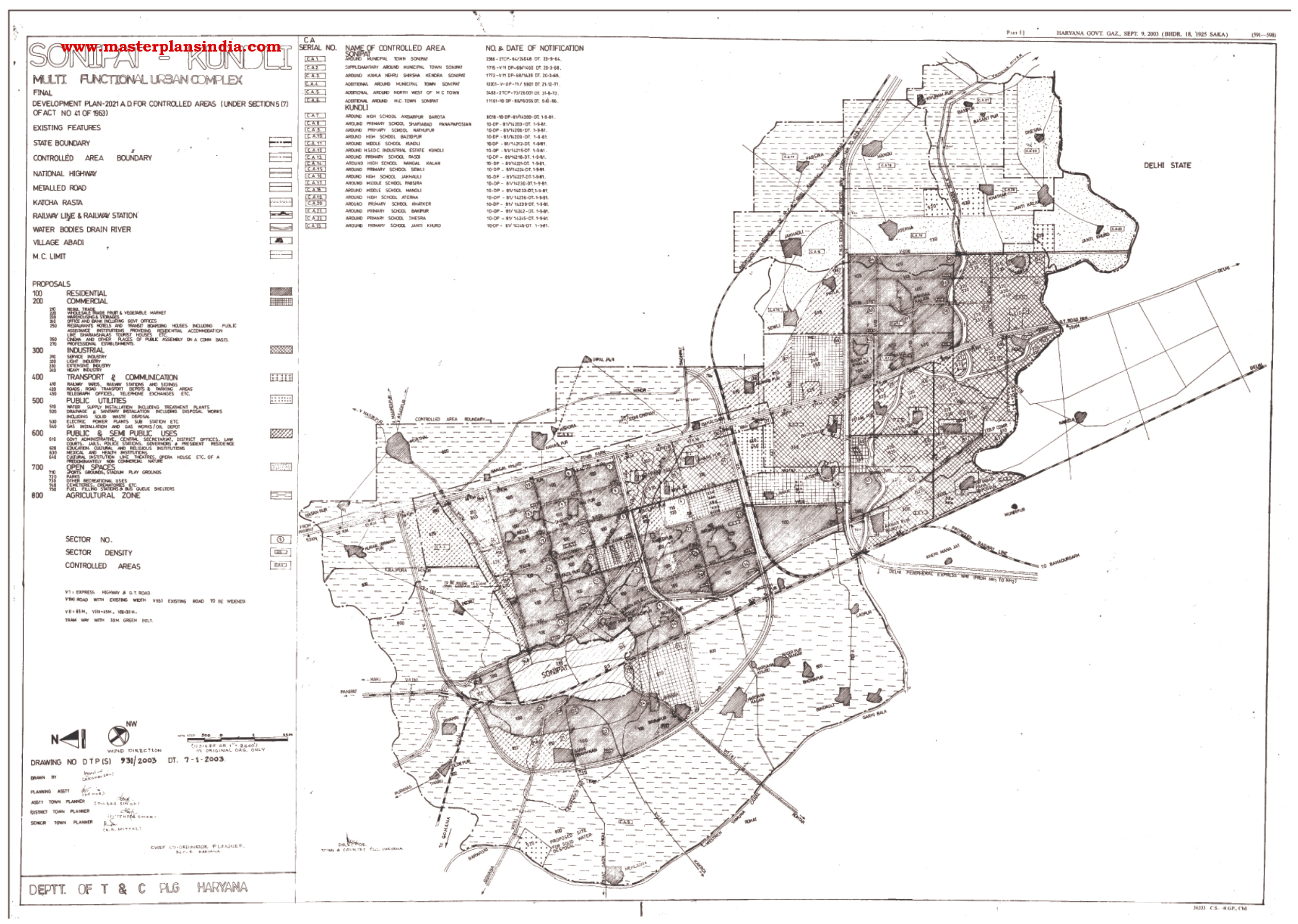 Form 38 download noida map