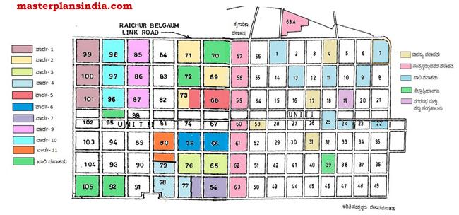Bagalkot All Sectors Master Development Plan Map