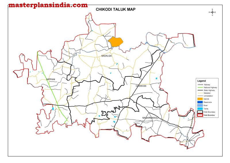 chikodi-taluk-map Janani Suraksha Yojana Application Form Download on
