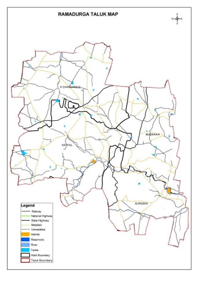 ramadurga taluk map pdf download