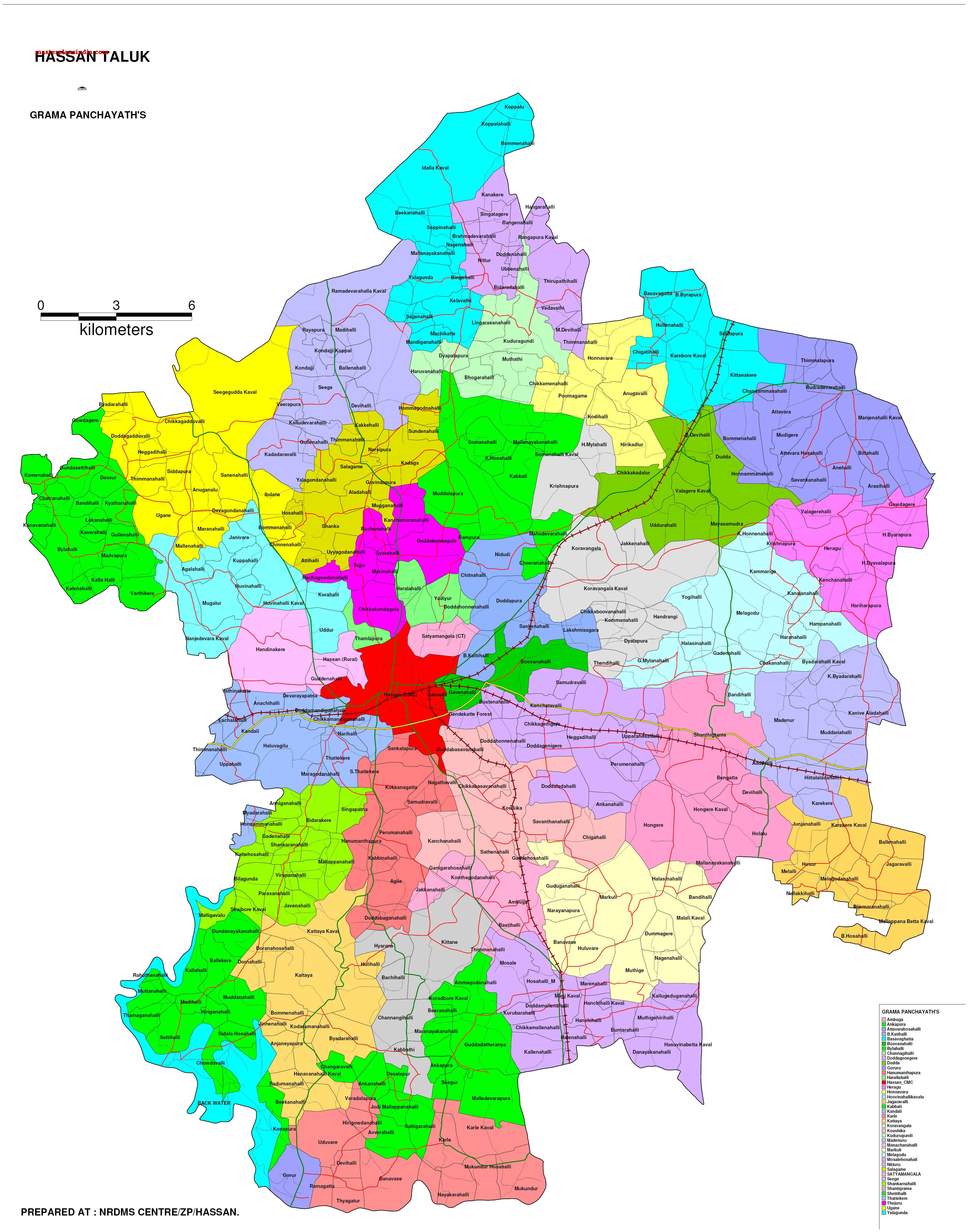 han-taluk-gramapanchayth-map Janani Suraksha Yojana Application Form Download on