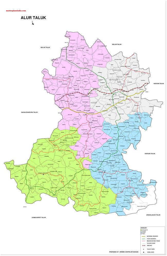 Alur Taluk Map-1