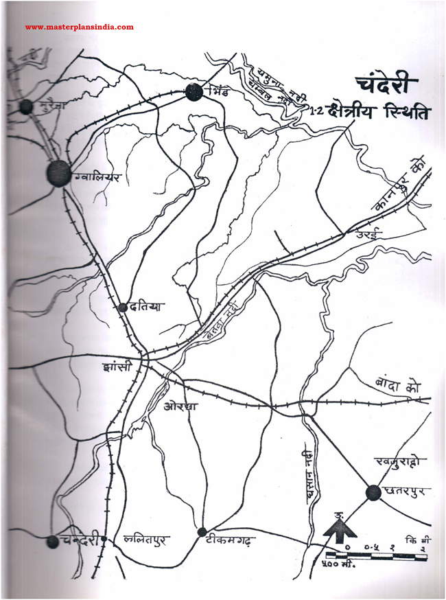 Chanderi Area Status Map