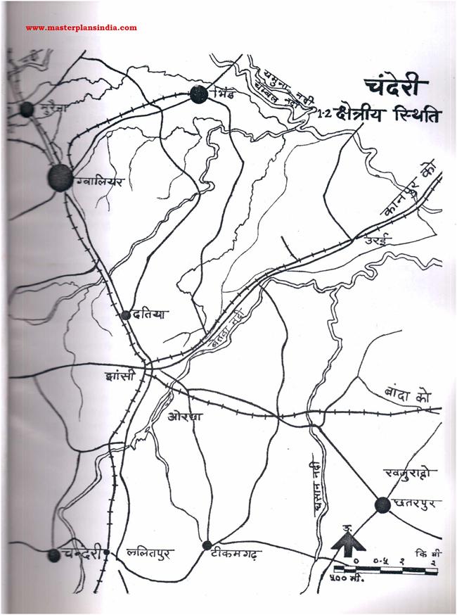 Chanderi Area Status Map