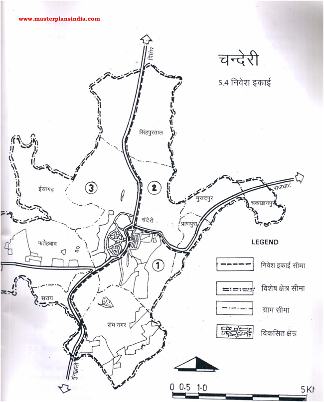 Chanderi Investment Unit Map