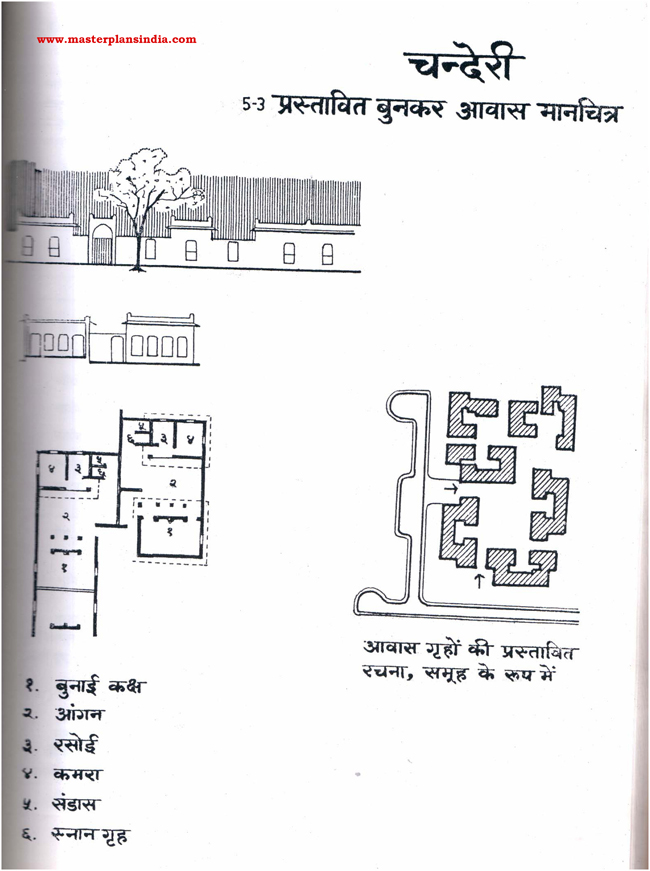 Chanderi Proposed Residential Map