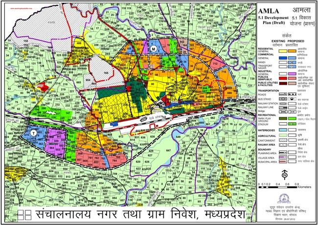 Amla Development Plan Map Draft 5.1