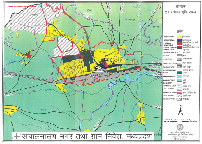 Amla Existing Land Use Map