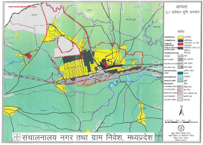Amla Existing Land Use Map