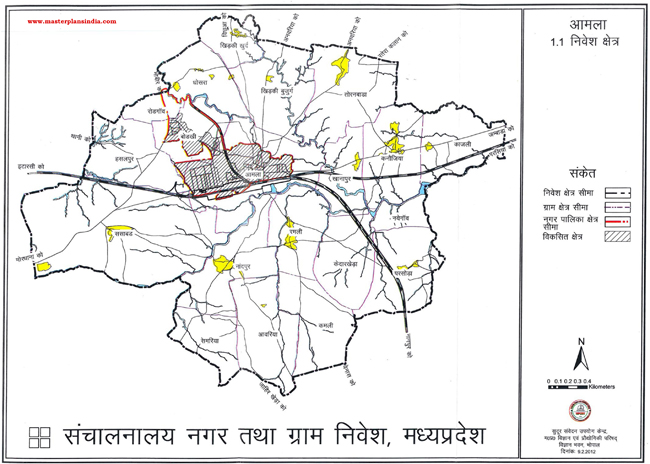 Amla Investment Area Map