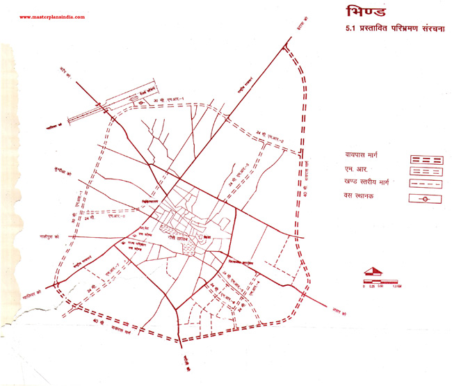 Bhind Route Map Draft