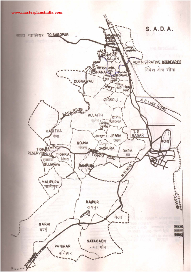 Sada Administrative Boundries Map