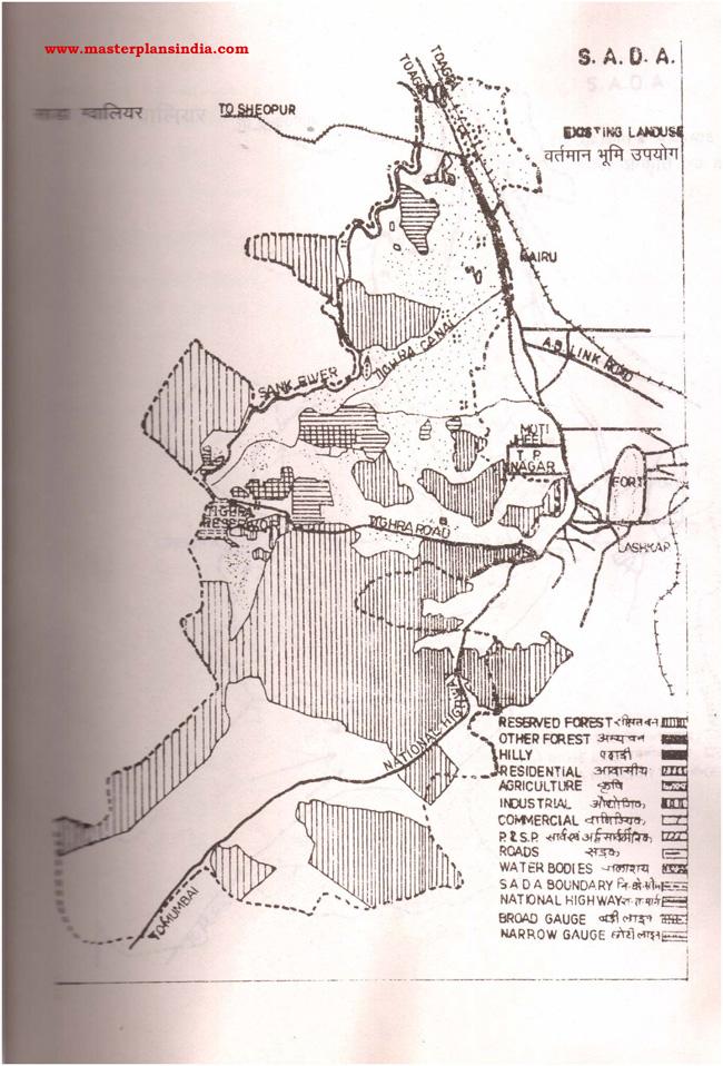 Sada Existing Land Use Map