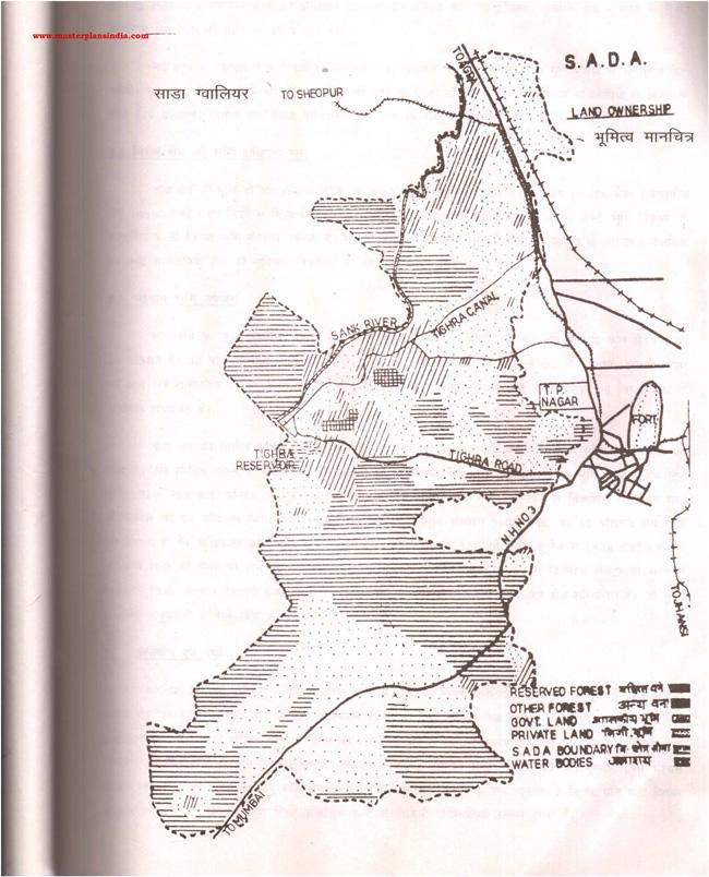 Sada Land Ownership Map