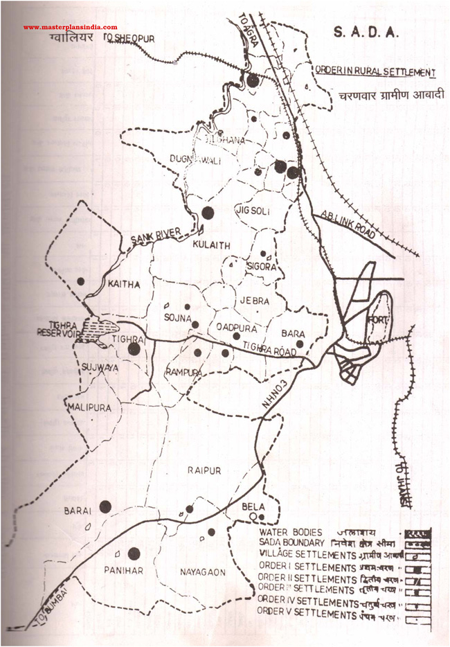 Sada Order Rural Settlement Map