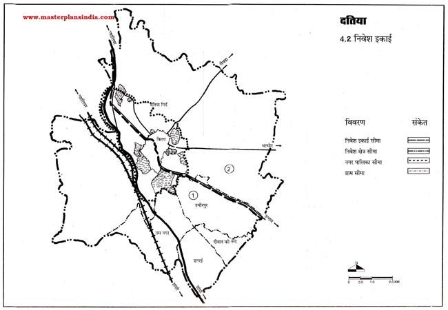 Datiya Investment Area Map