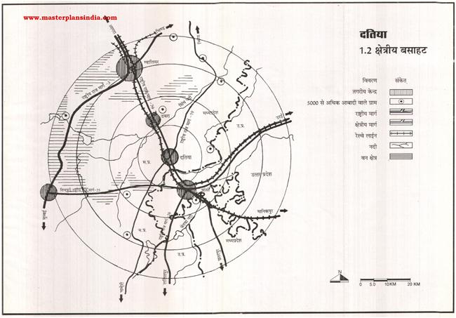 Datiya Residential Area Map