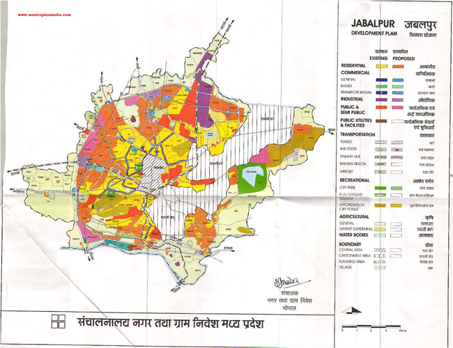 Jabalpur Master Plan 2021 Map
