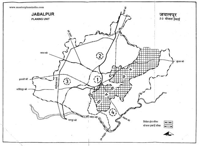 Jabalpur Planning Unit 2-3