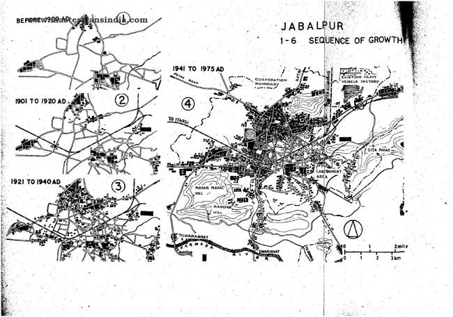 Jabalpur Sequence Growth Map