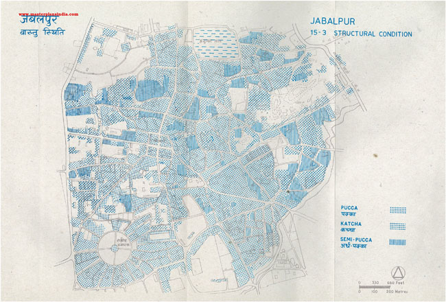 Jabalpur Structural Conditions Map