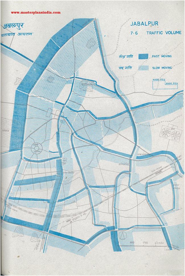Jabalpur Traffic Volume Maps