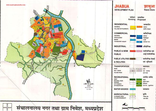 Jhabua Development Plan Map