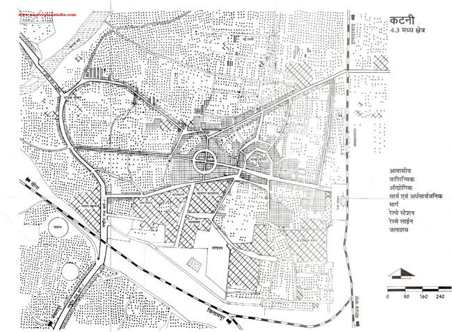 Katni Central Area Map