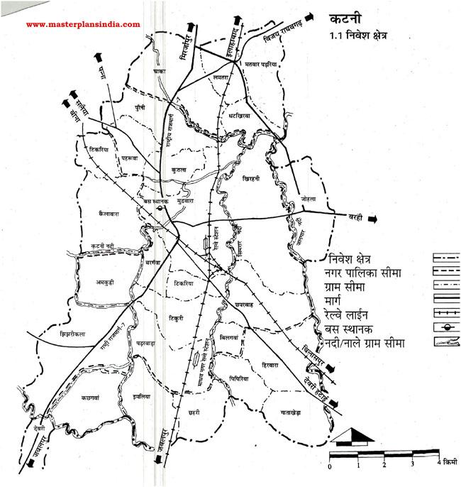 Katni Investment Area Map