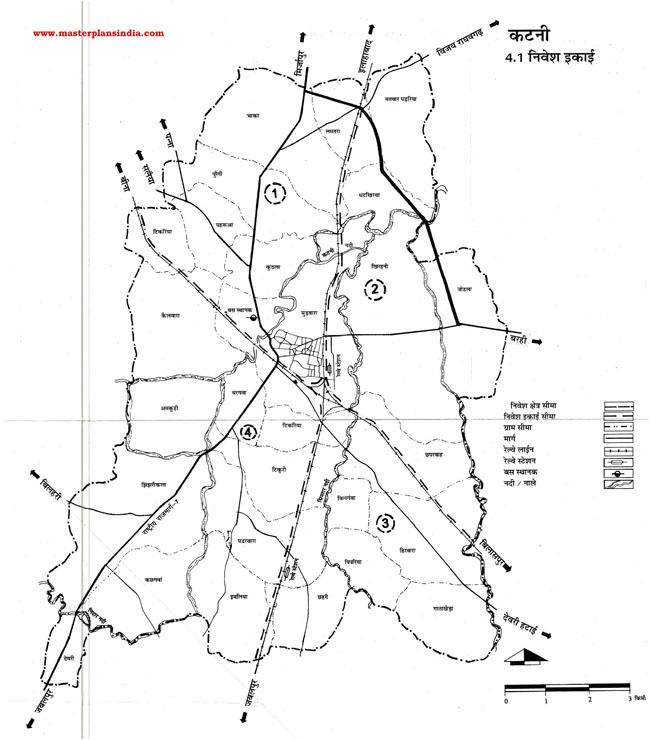 Katni Investment Unit Map