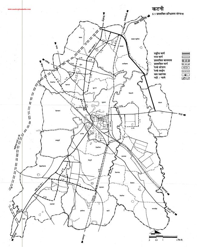 Katni Proposed Circulation Pattern