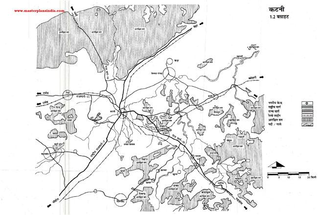 Katni Residential Area Map