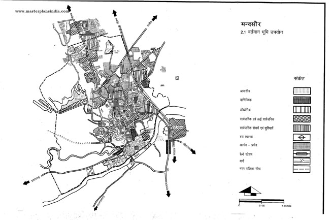 Mandsaur Existing Land Use Map